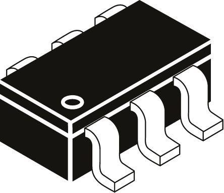 Infineon 85V 200mA, Quad Silicon Junction Diode, 6-Pin SC-74 BAV99UE6327HTSA1 (3000)