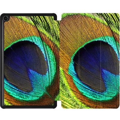 Amazon Fire 7 (2017) Tablet Smart Case - Peacock von Mark Ashkenazi