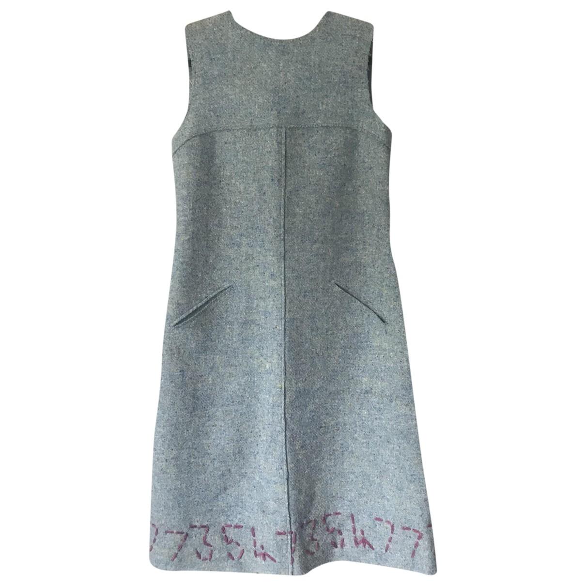 Philosophy Di Alberta Ferretti \N Blue Wool dress for Women 36 FR