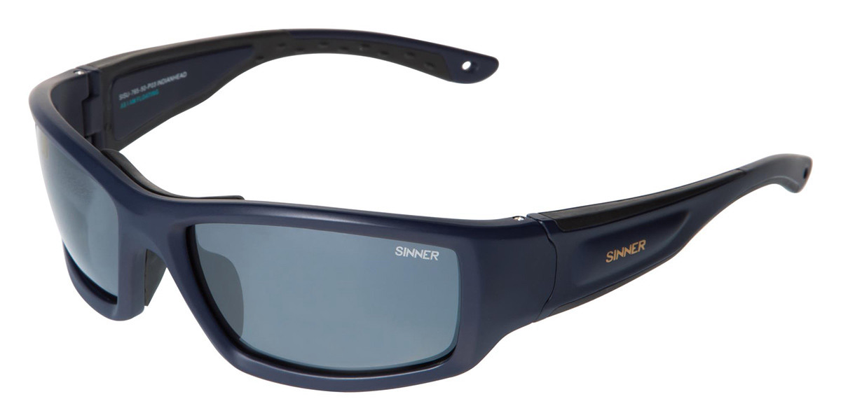 Sinner Indianhead Floating SISU-765 Polarized 50-P03 Mens Sunglasses Blue Size Standard