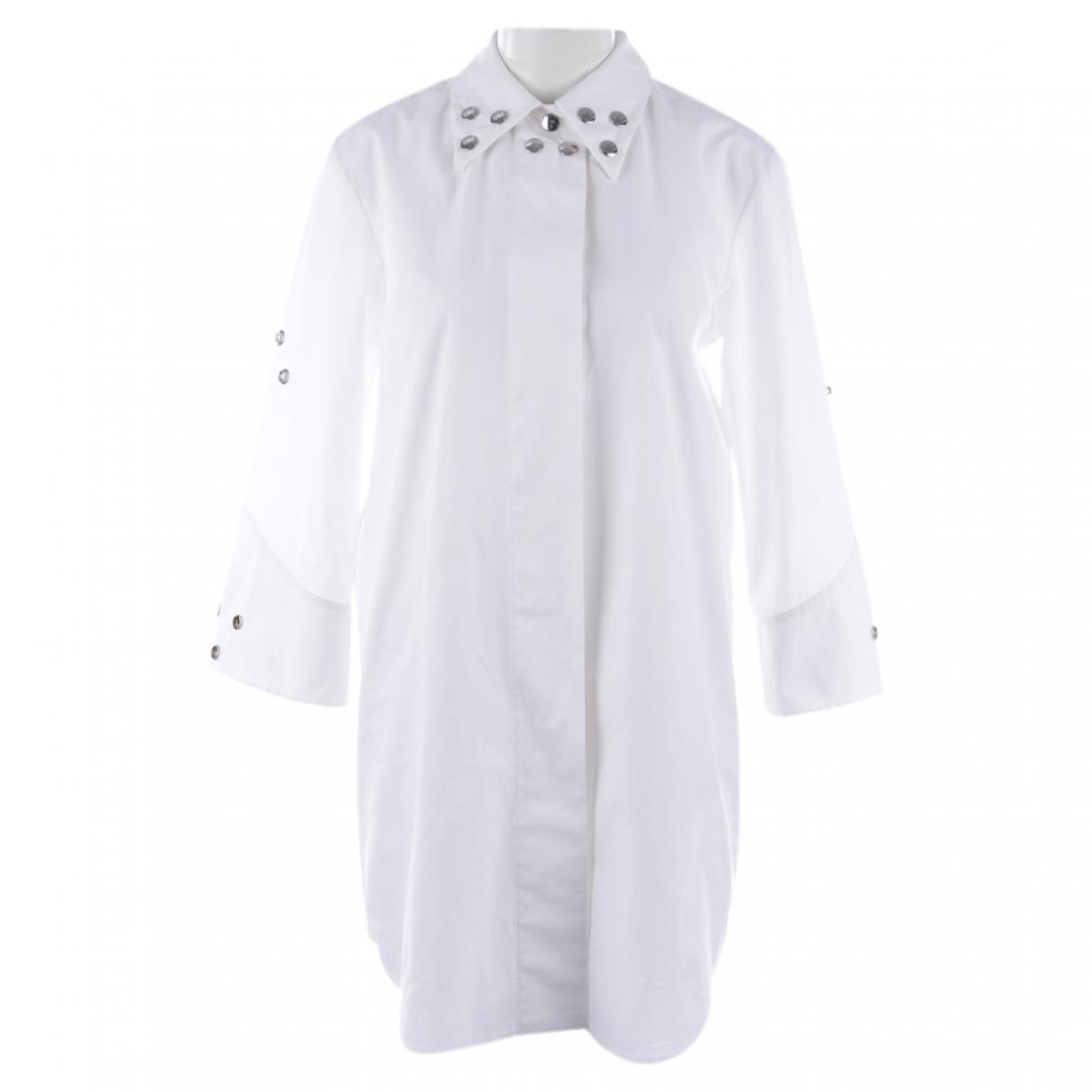 Maison Martin Margiela \N White Cotton dress for Women 36 FR