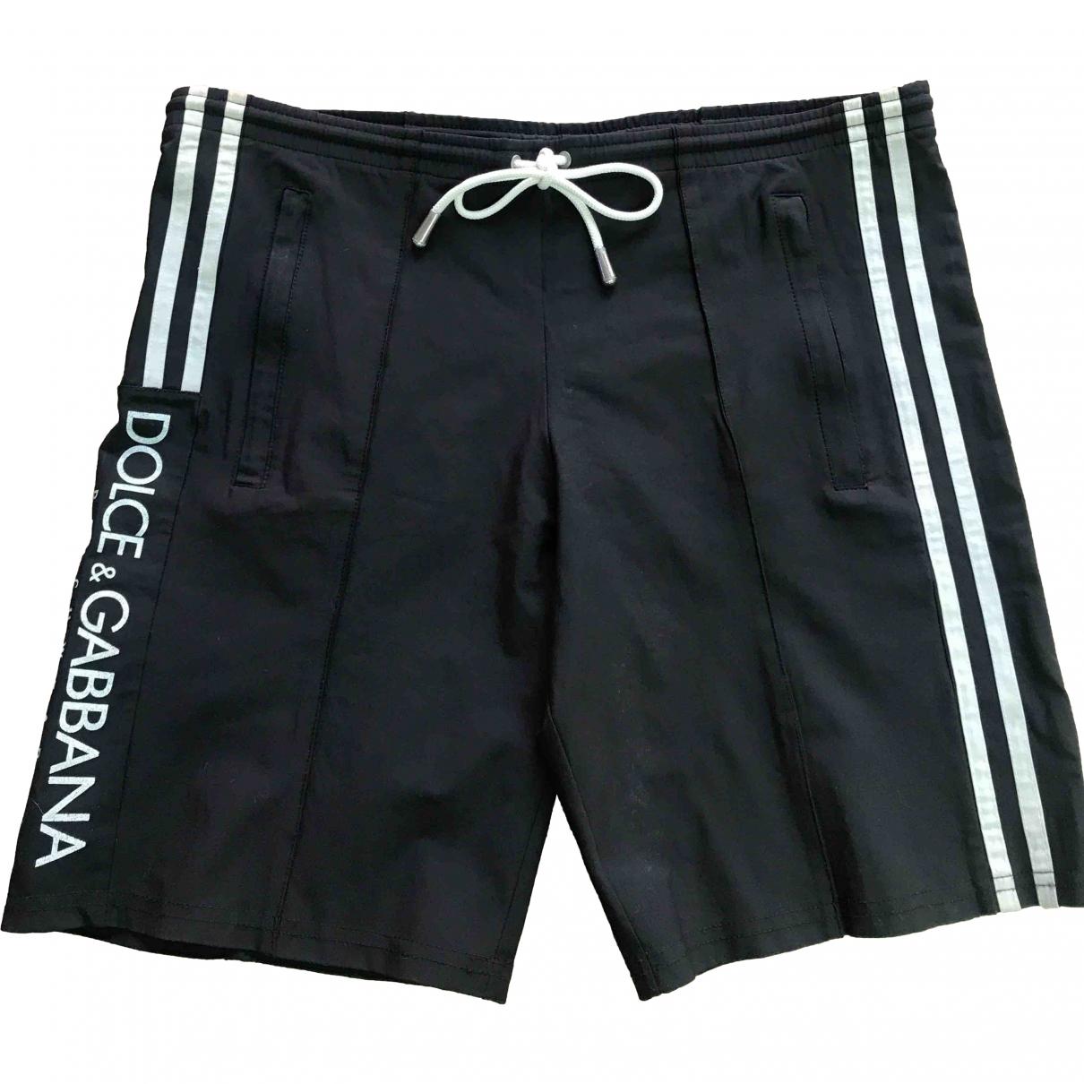 Dolce & Gabbana \N Black Polyamide Swimwear for Men M International