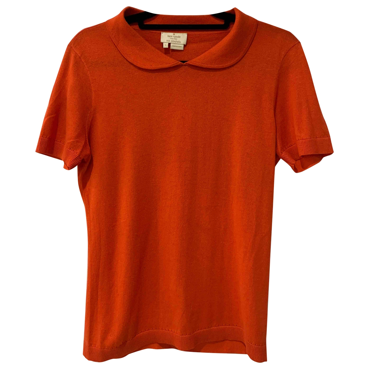 Kate Spade \N Orange Cotton  top for Women S International
