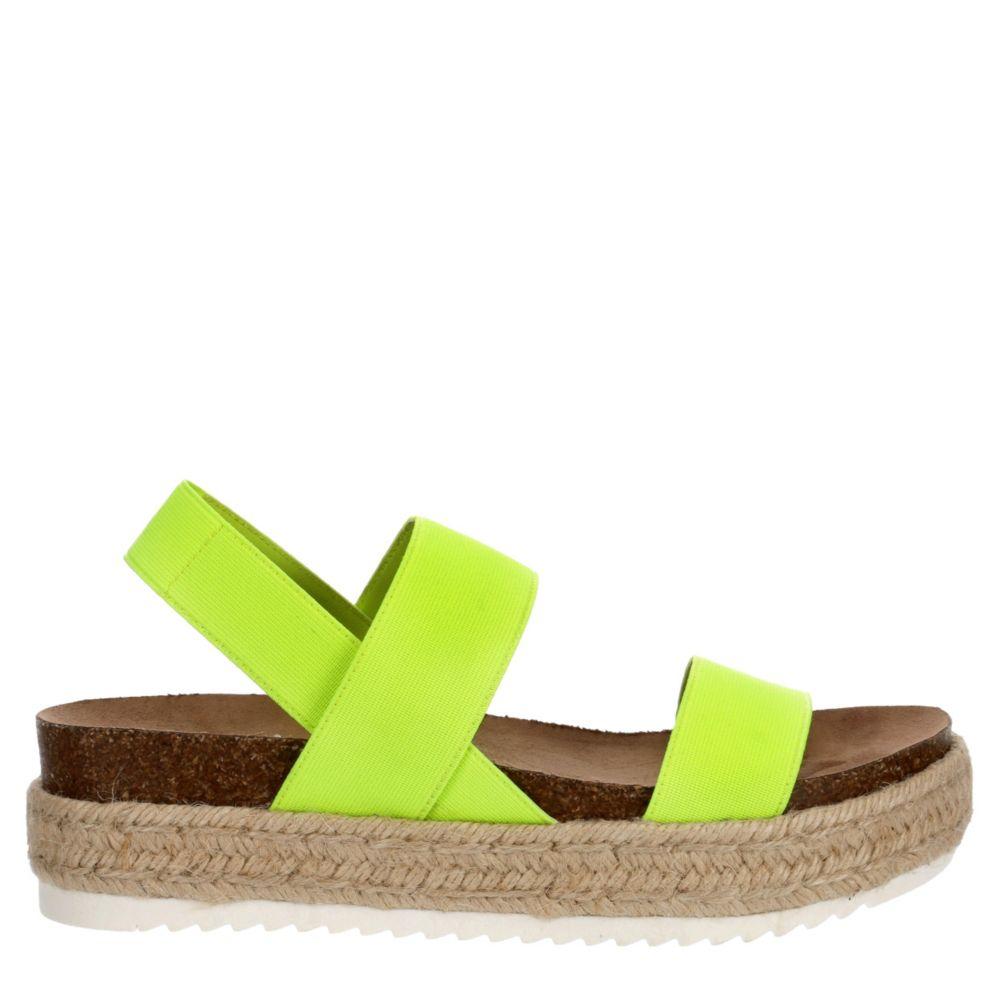 Madden Girl Womens Cybell Espadrille Platform Sandal