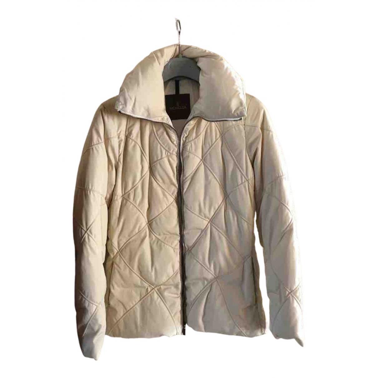 Moncler - Manteau Classic pour femme - beige