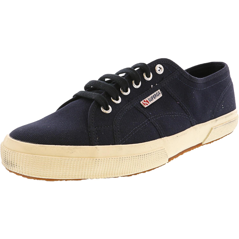 Superga Men's 2750 Cotu Classic Navy Low Top Canvas Sneaker - 13.5M