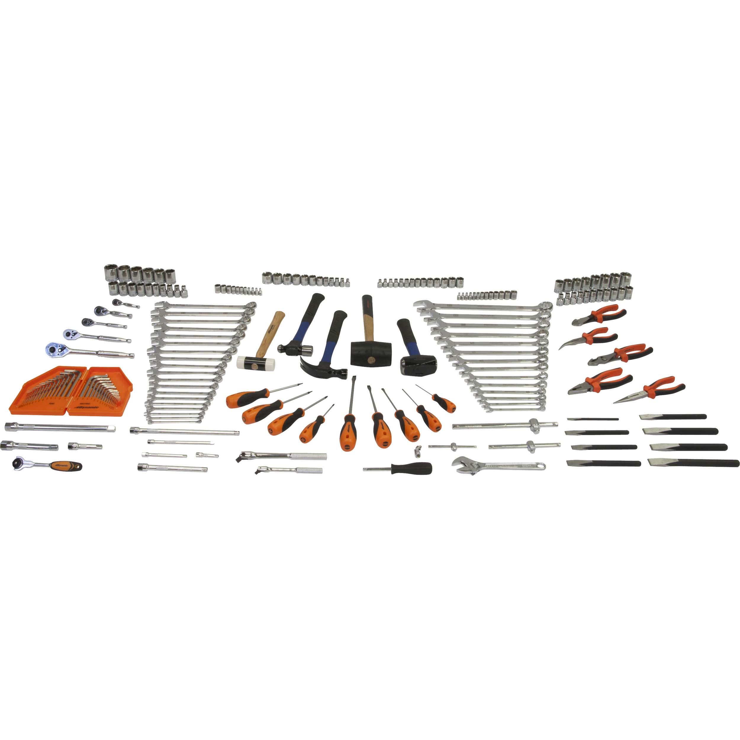Tools 198pc Starter Master Set
