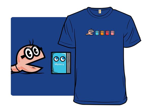 Bookworm Man T Shirt