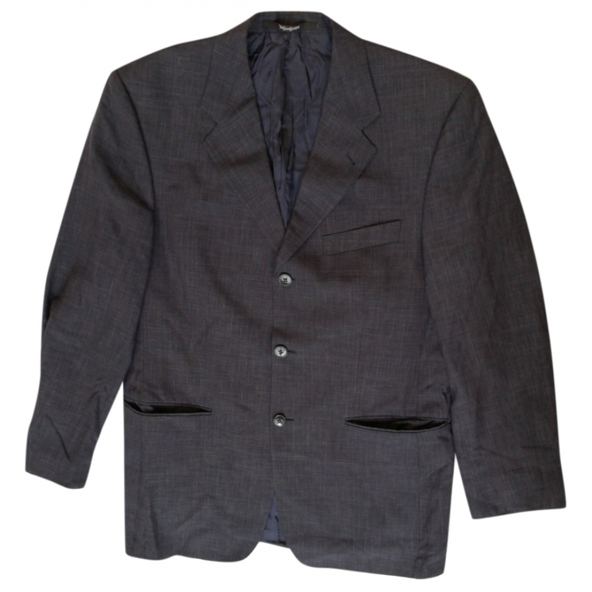 Saint Laurent \N Navy jacket  for Men 50 IT