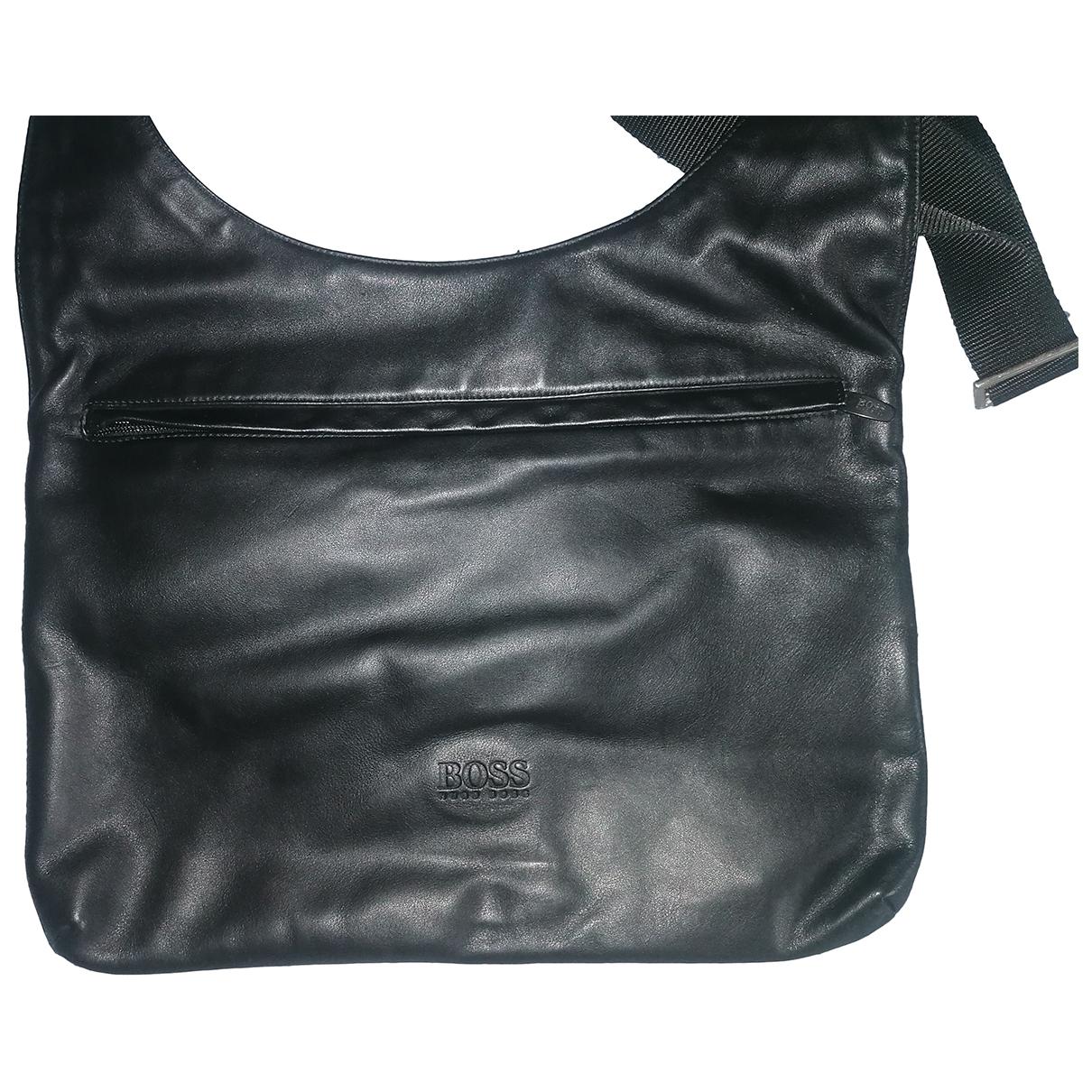 Boss N Black Leather handbag for Women N