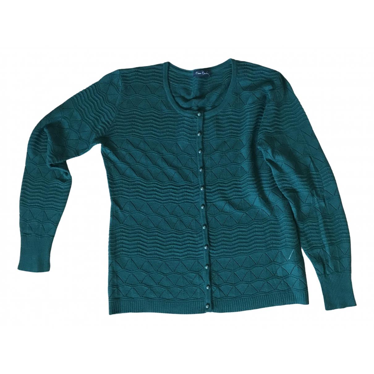 Pierre Cardin - Pull   pour femme en laine - vert