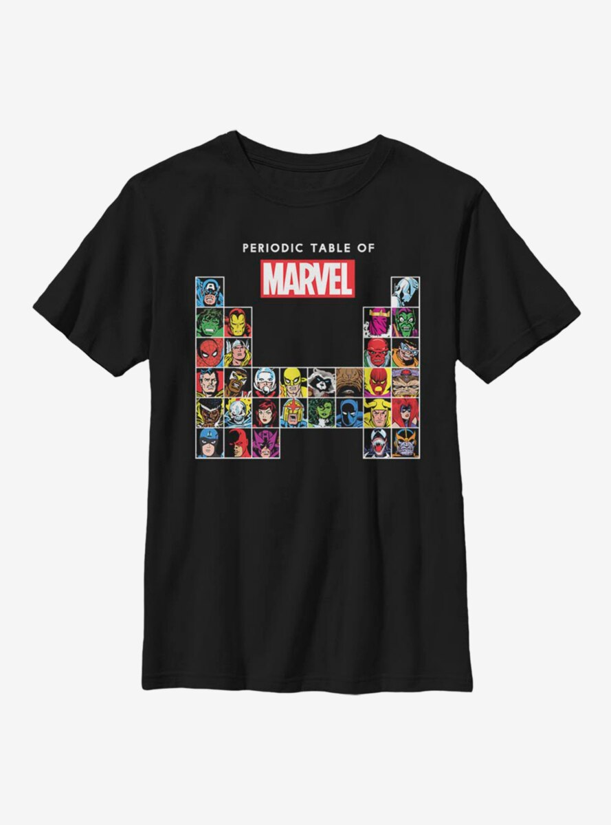 Marvel Periodic Marvel Youth T-Shirt