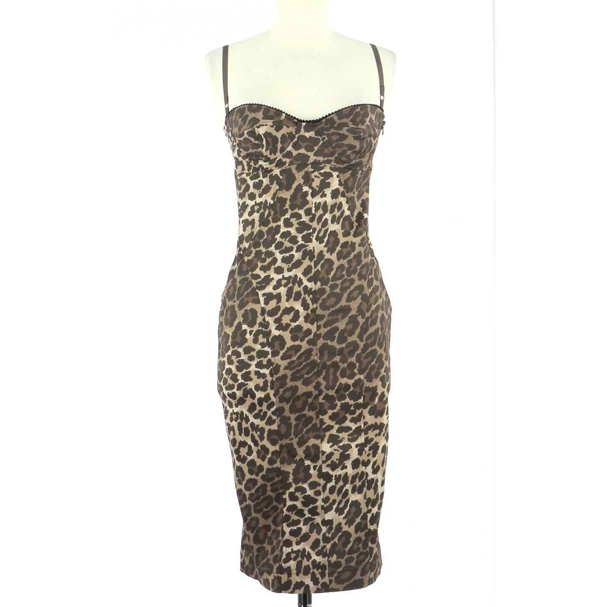 Karen Millen \N Kleid in  Braun Polyester