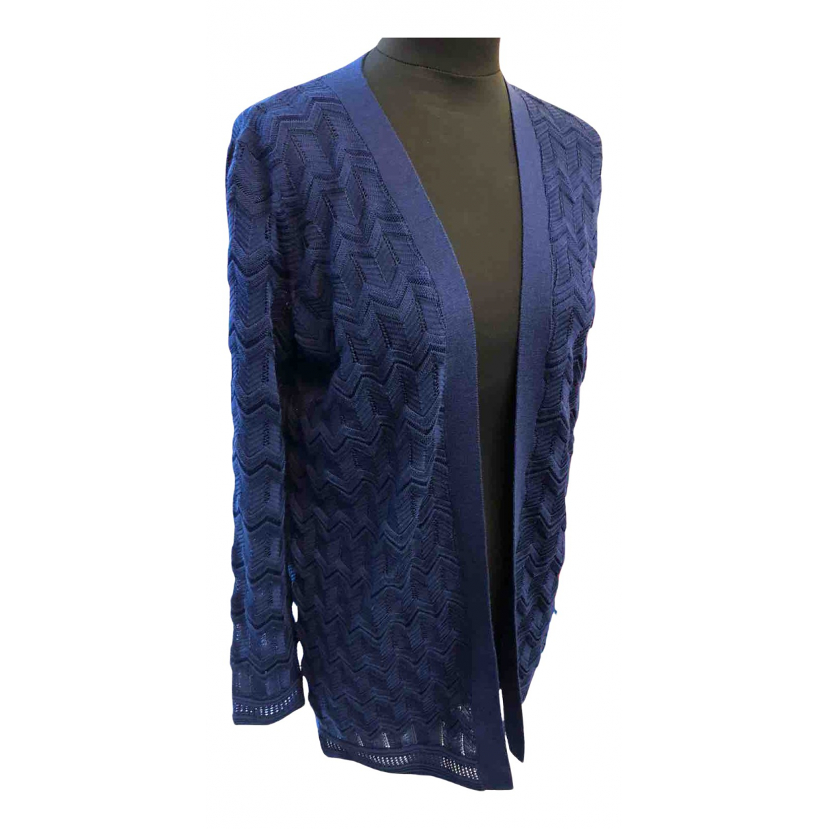 M Missoni N Blue Knitwear for Women 40 IT