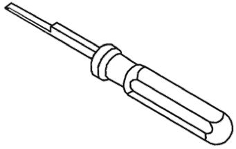 TE Connectivity Crimp Extraction Tool, MIC Tab Contact