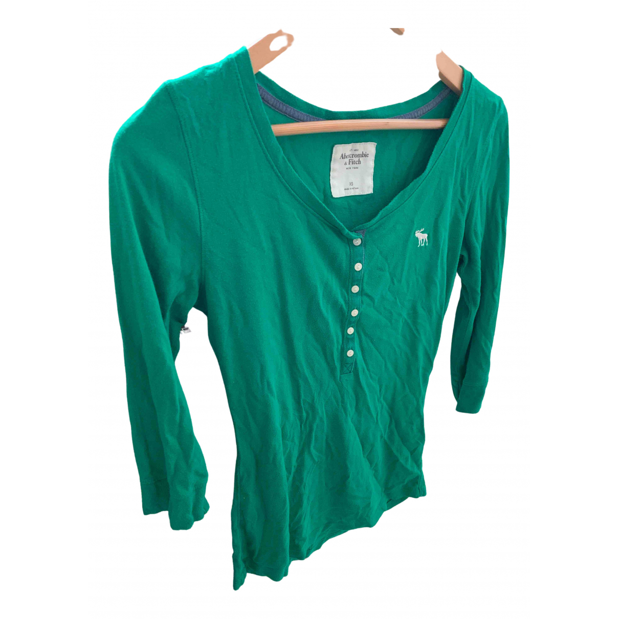 Abercrombie & Fitch \N Green Cotton  top for Women XS International