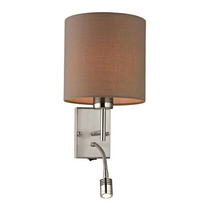 17151/2 Regina Collection 2 Light Sconce in Brushed