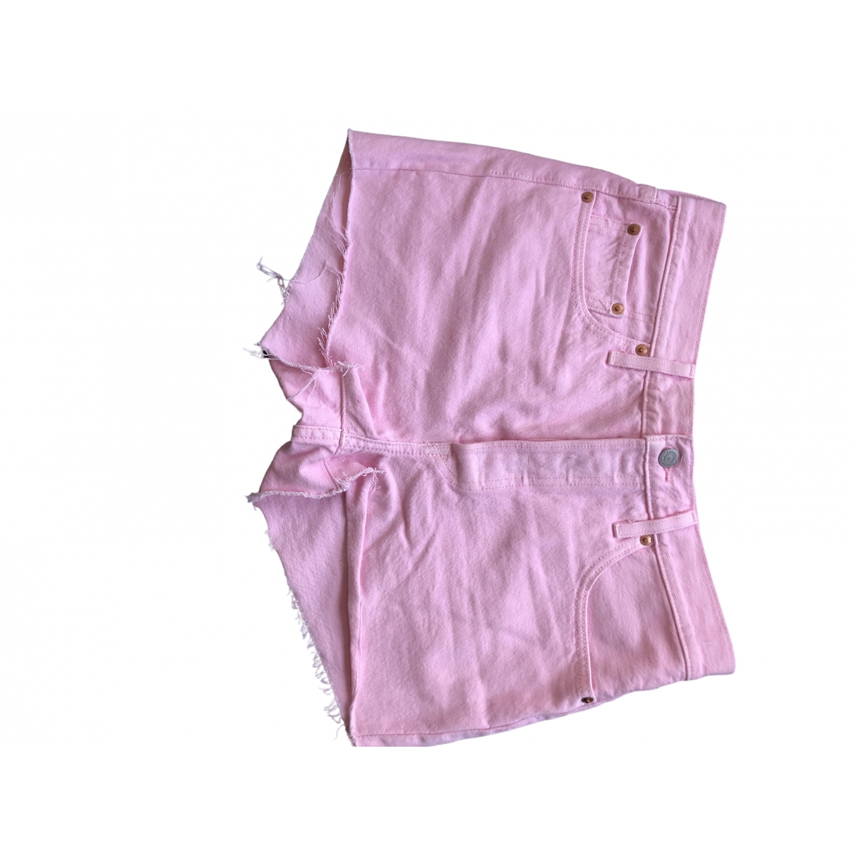 Levis \N Shorts in  Rosa Denim - Jeans