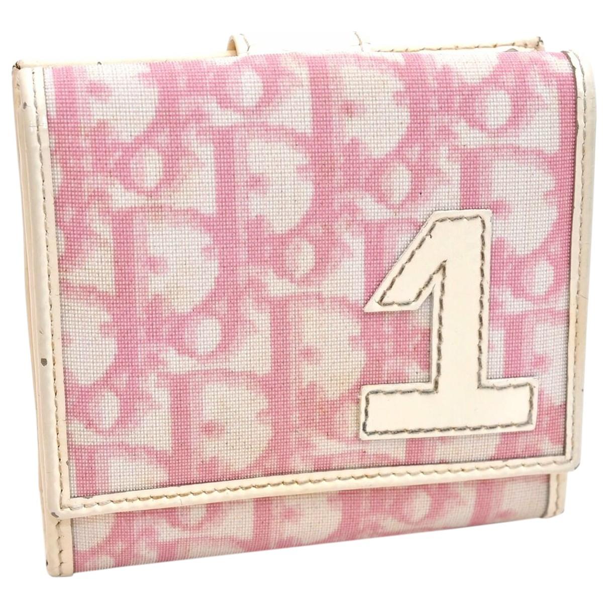 Dior - Portefeuille   pour femme - rose