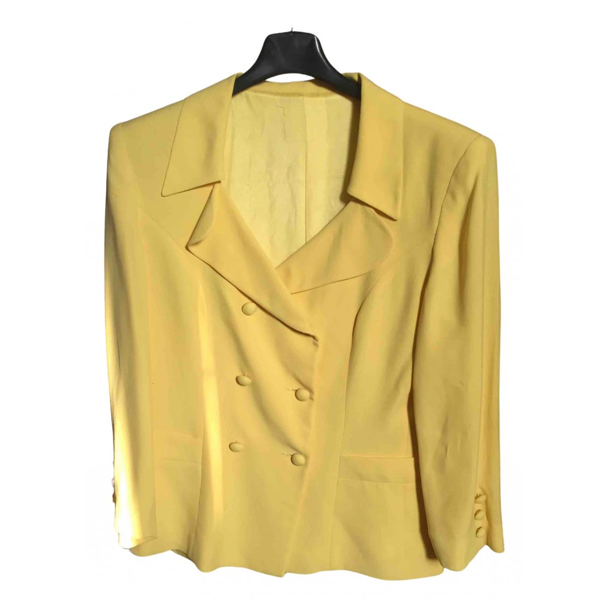 - Veste Epaulettes pour femme - jaune
