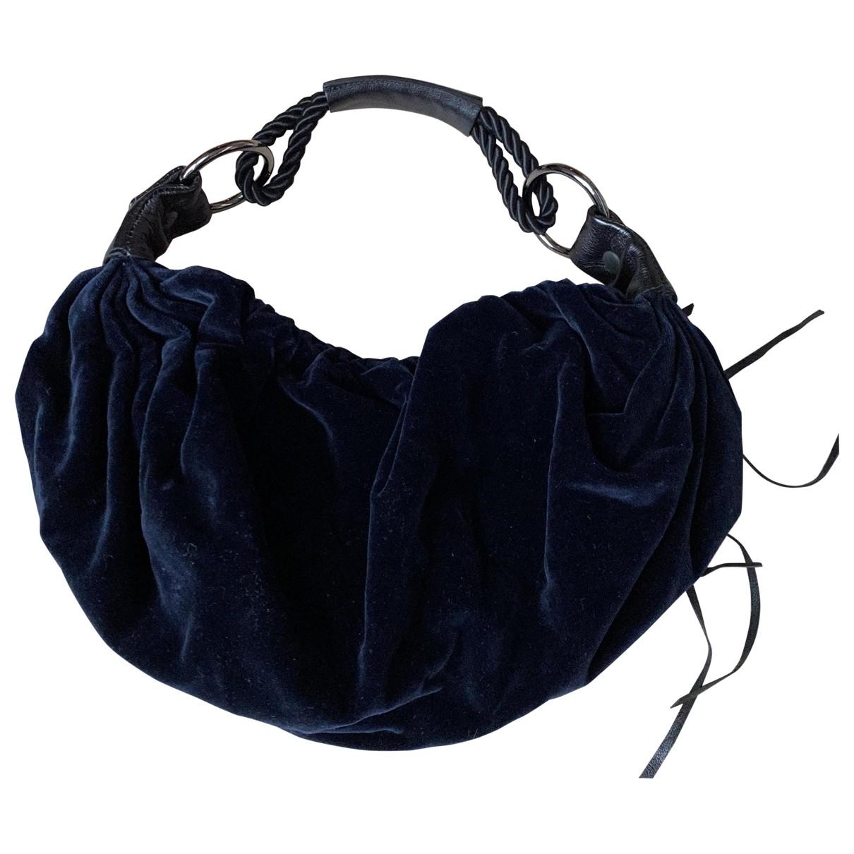 Miu Miu \N Handtasche in  Blau Samt