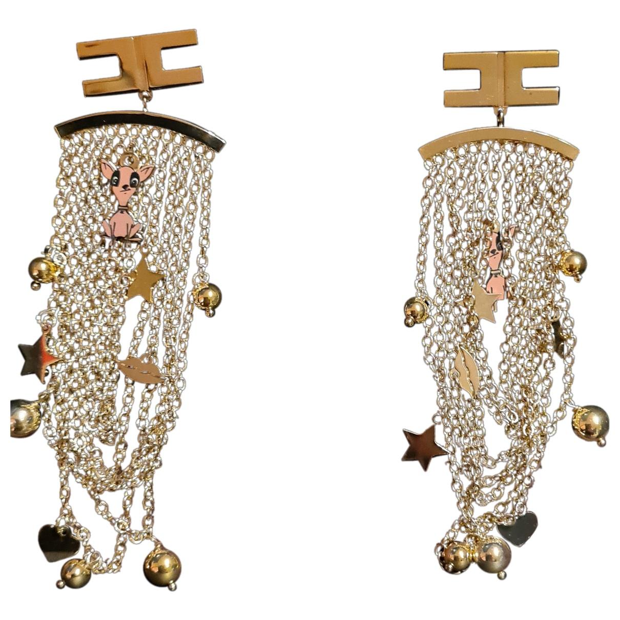 Elisabetta Franchi \N OhrRing in  Gold Metall