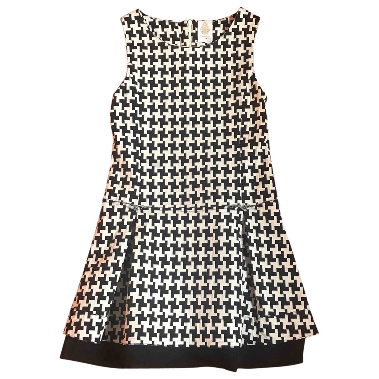 Dondup - Robe    pour enfant en coton - elasthane