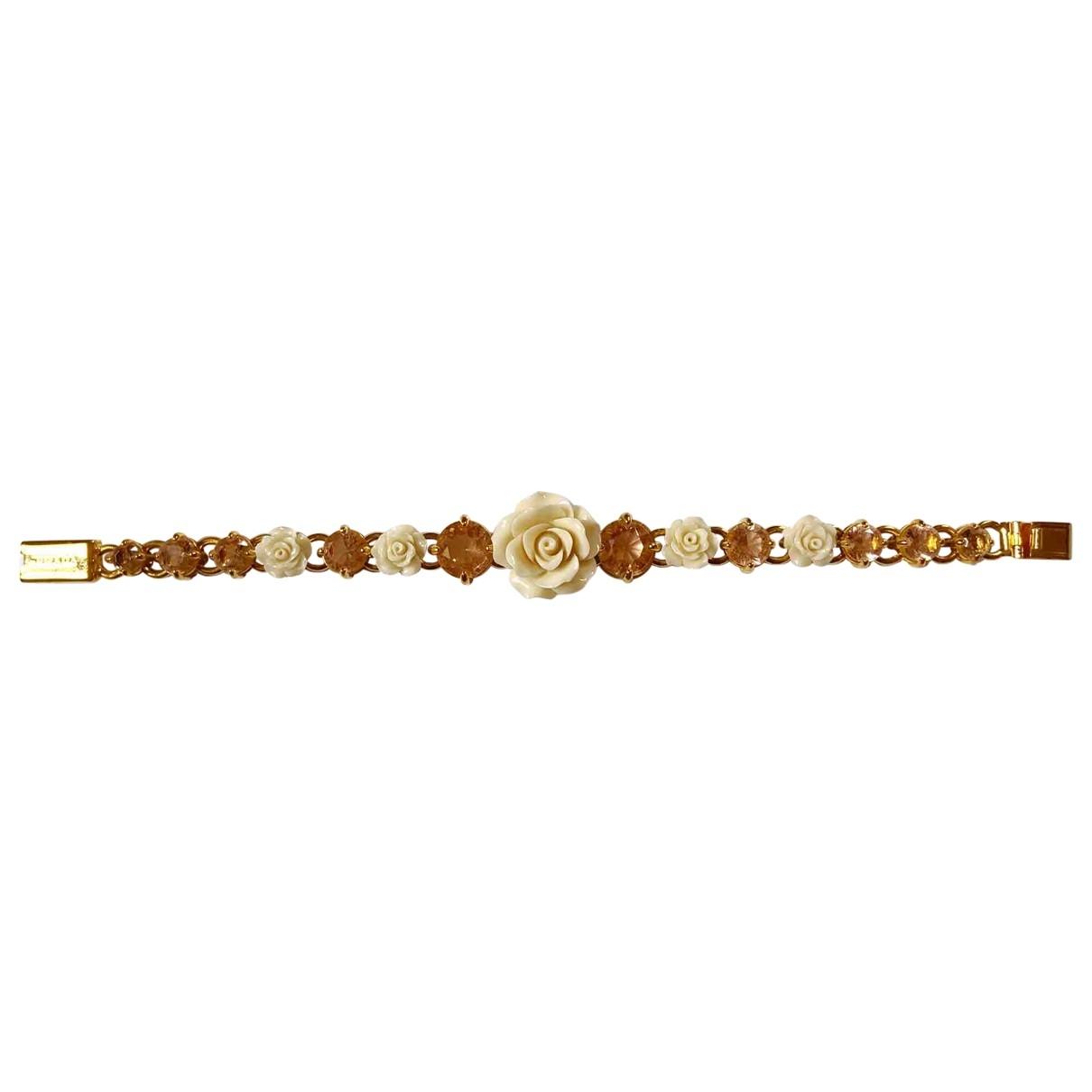 Prada - Bracelet   pour femme en metal - dore