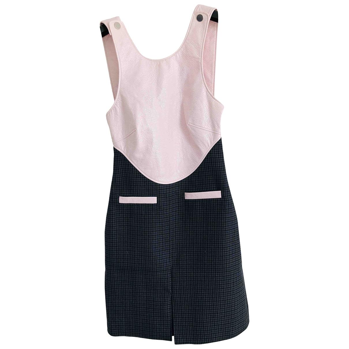 Courrèges \N Multicolour Wool dress for Women 36 FR