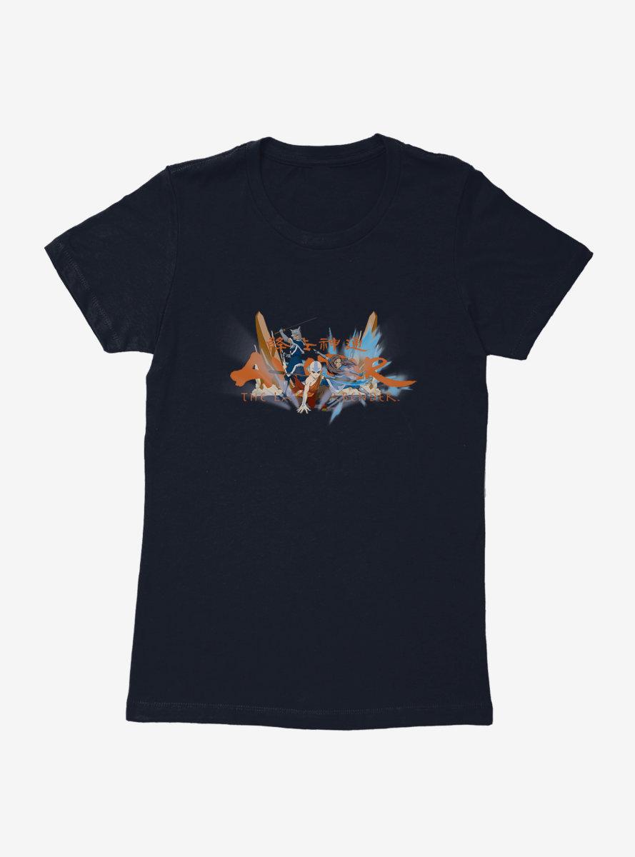 Avatar: The Last Airbender Trio Womens T-Shirt