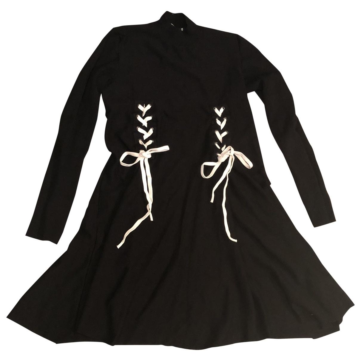 Sport Max \N Kleid in  Schwarz Wolle