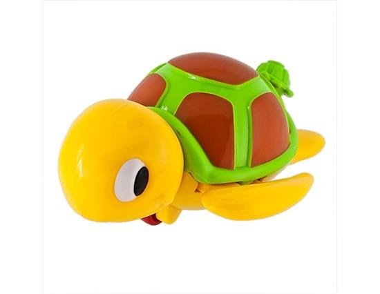 YM505X Funny Amphibious Mother and Baby Turtles Pull Moving Toy