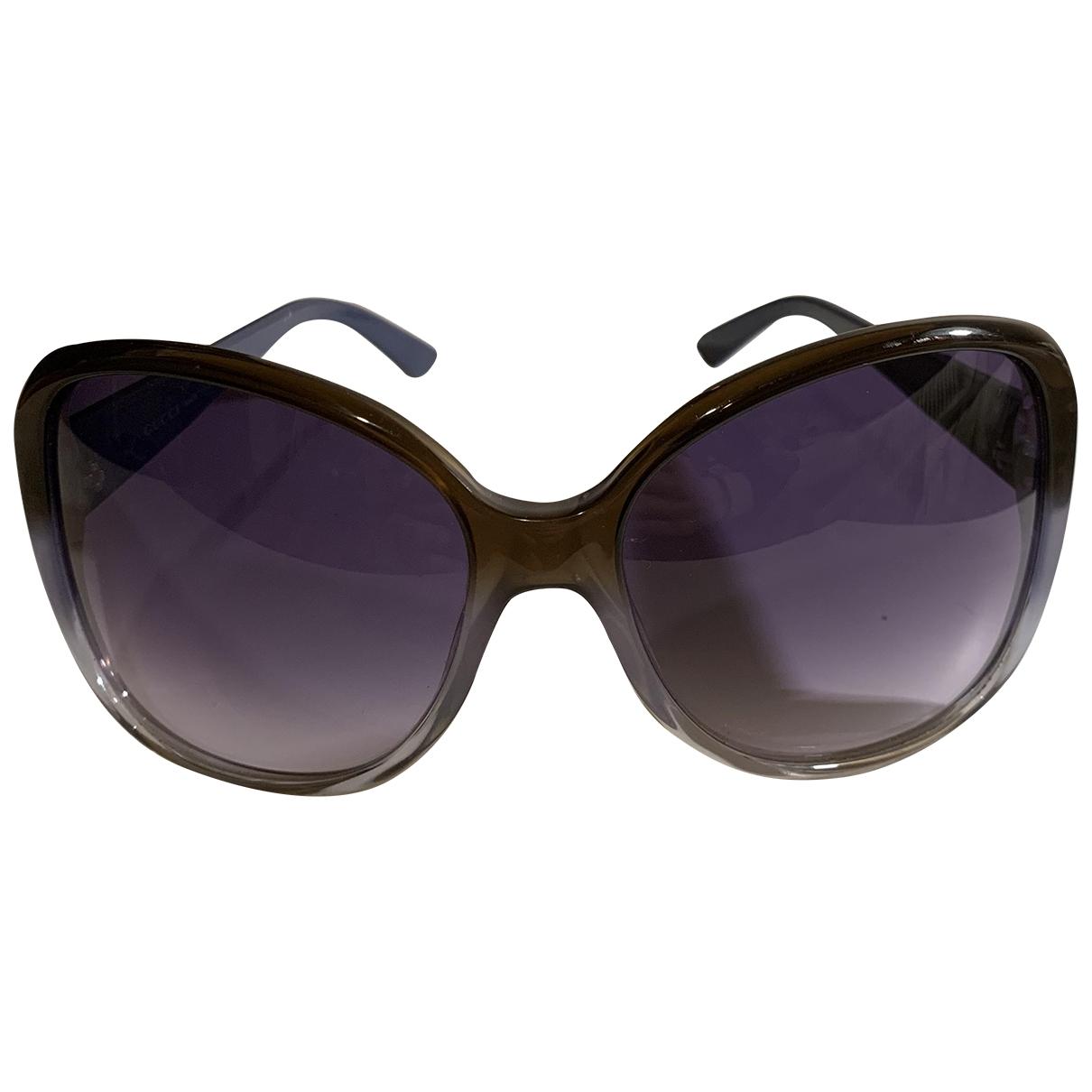 Gucci - Lunettes   pour femme - violet