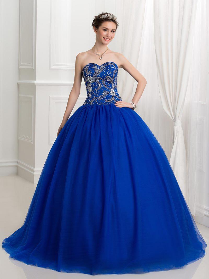 Ericdress Ball Sweetheart Beading Sequins Quinceanera Dress