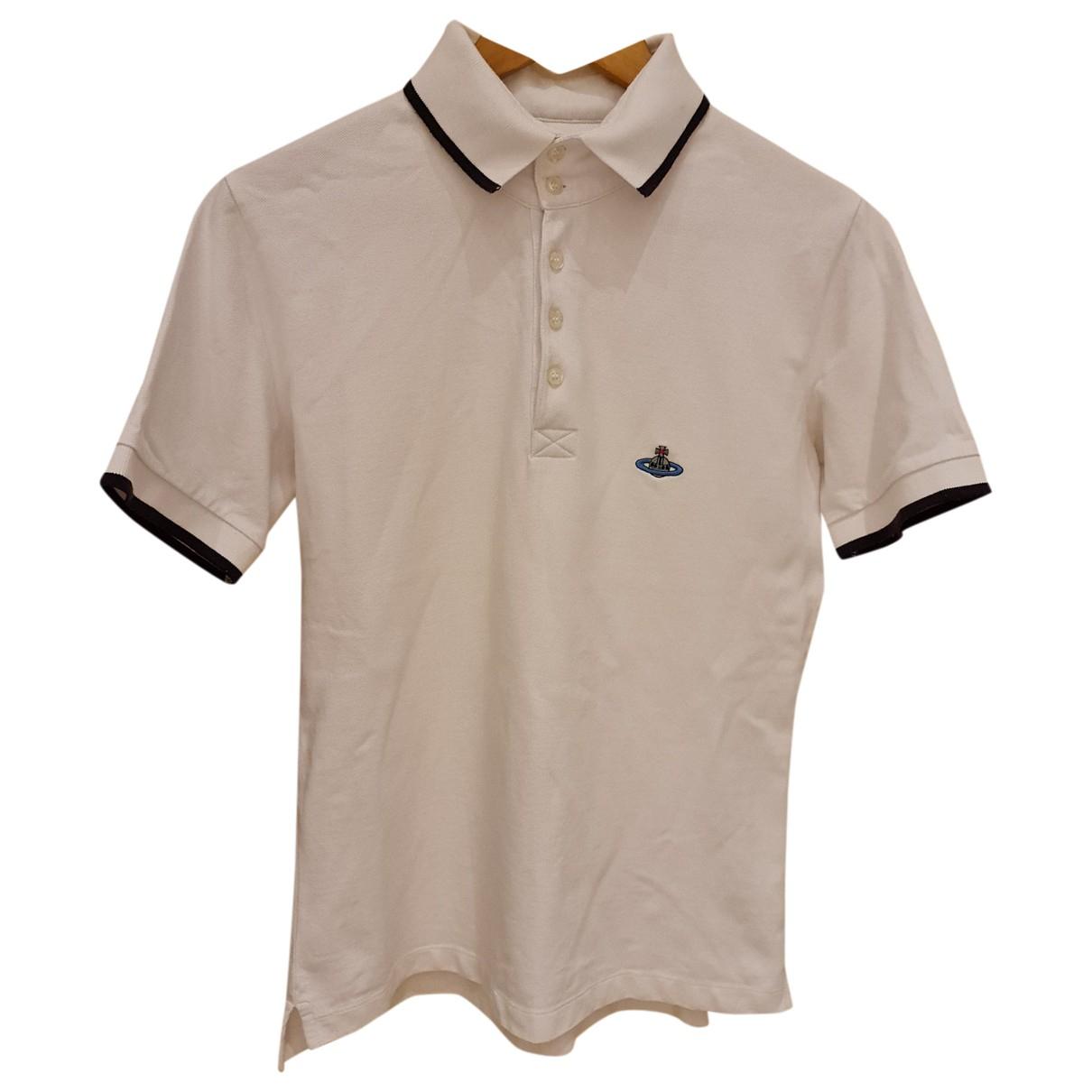 Vivienne Westwood N White Cotton Polo shirts for Men L International