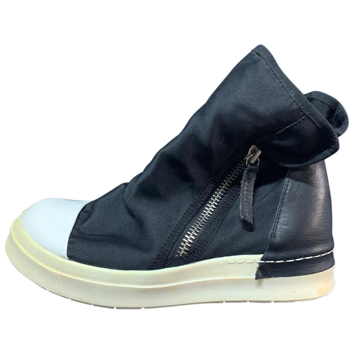 Cinzia Araia \N Sneakers in  Schwarz Leder