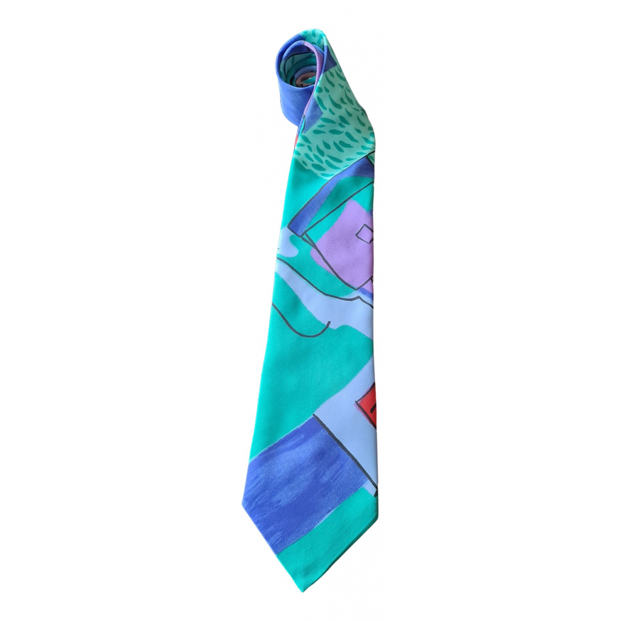 Paco Rabanne N Multicolour Silk Ties for Men N