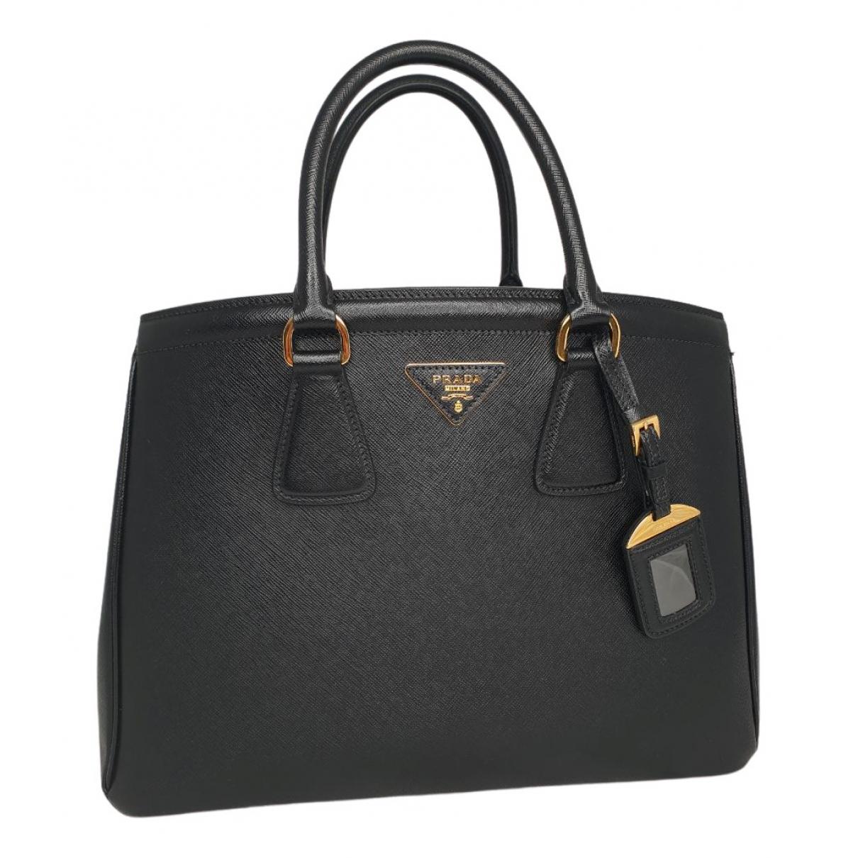 Prada Galleria Black Leather handbag for Women N
