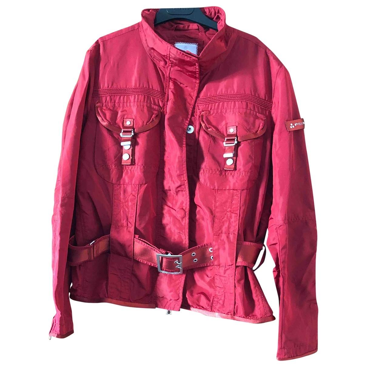Peuterey - Veste   pour femme - rouge