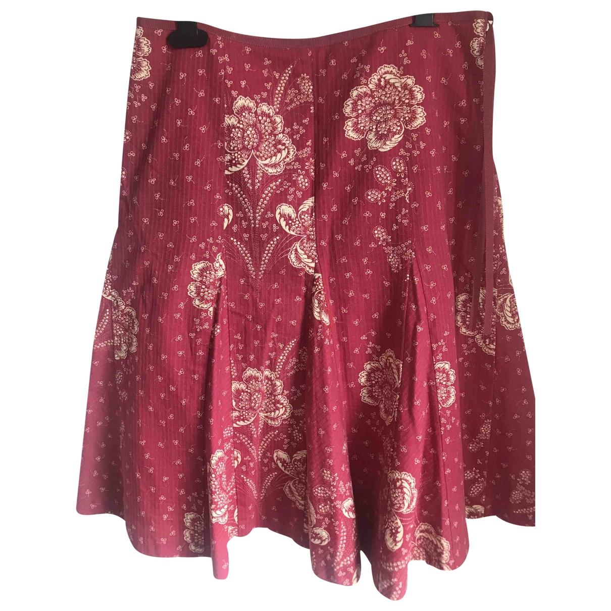 J.crew \N Burgundy Cotton skirt for Women 4 US