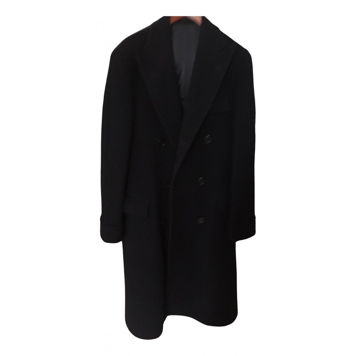 Polo Ralph Lauren \N Maentel in  Marine Wolle