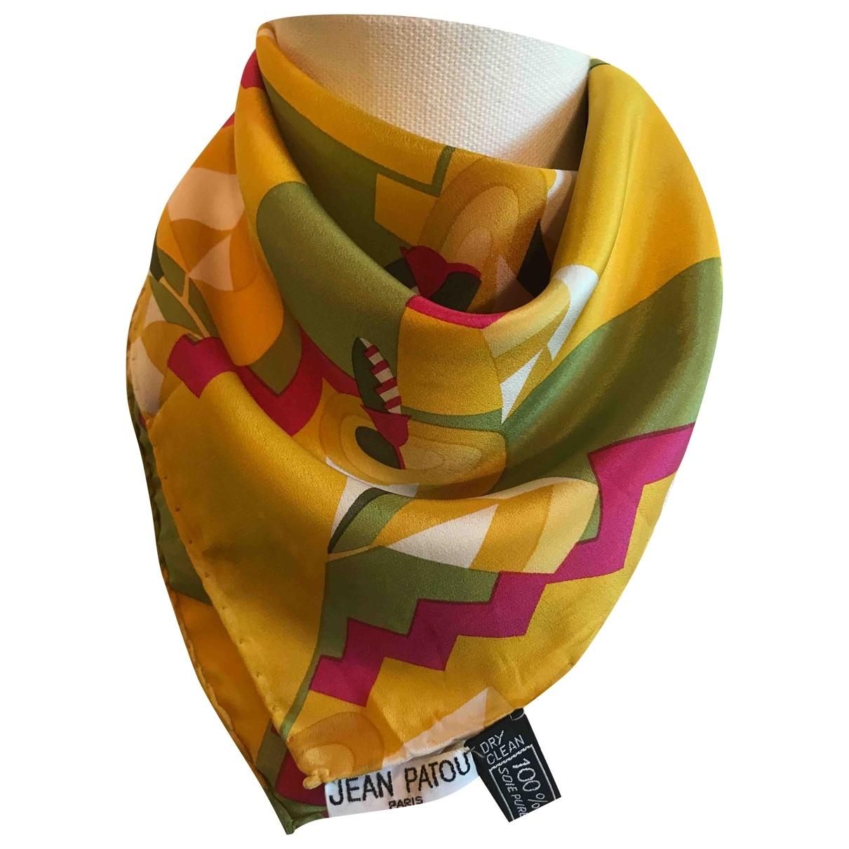 Jean Patou \N Multicolour Silk scarf & pocket squares for Men \N