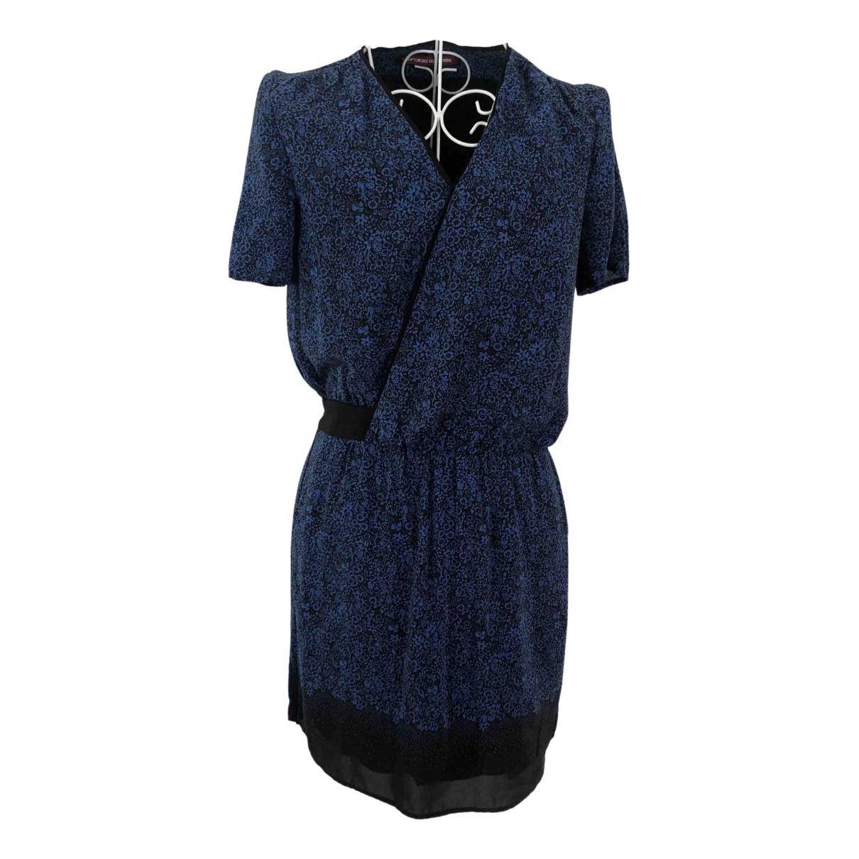 Comptoir Des Cotonniers \N Kleid in  Blau Seide
