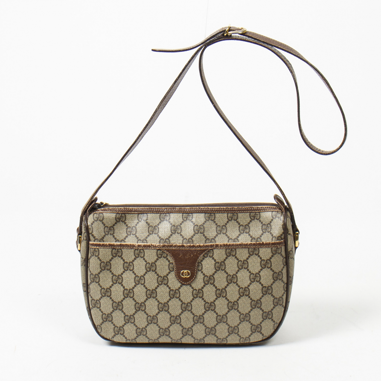 Gucci \N Brown Cotton handbag for Women \N