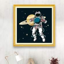 Astronaut Print DIY Diamond Painting