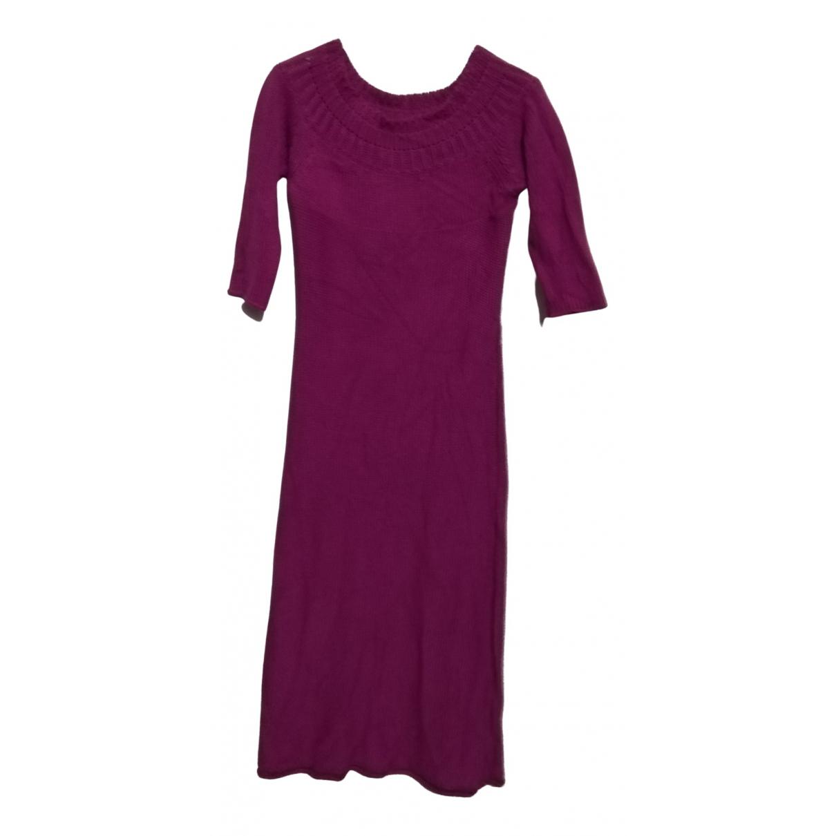 Patrizia Pepe \N Burgundy Cotton dress for Women One Size International