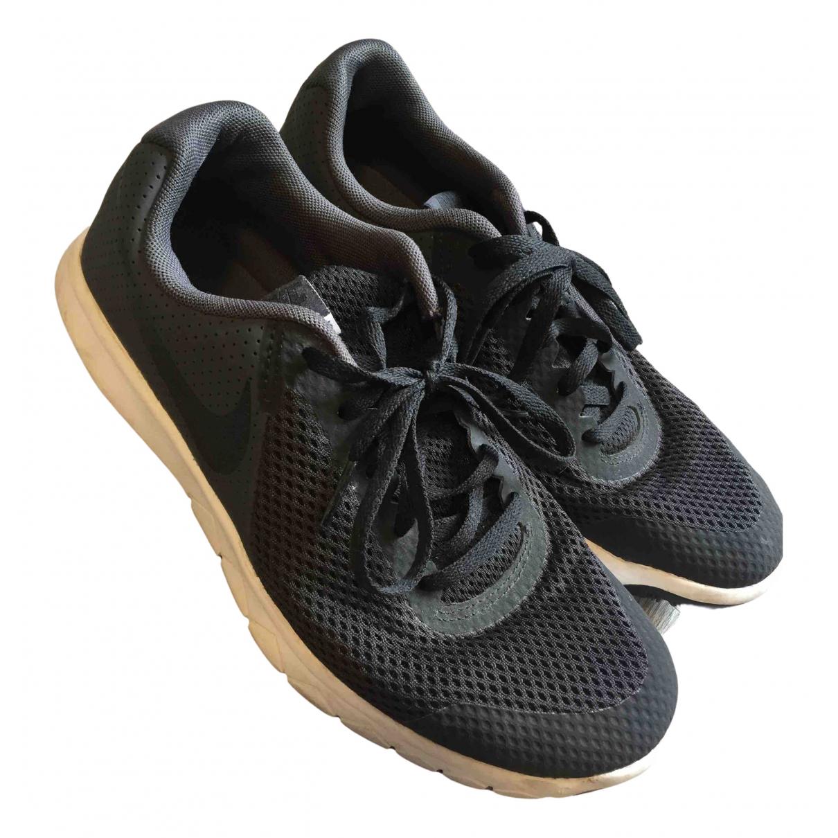 Nike N Black Trainers for Women 5 UK
