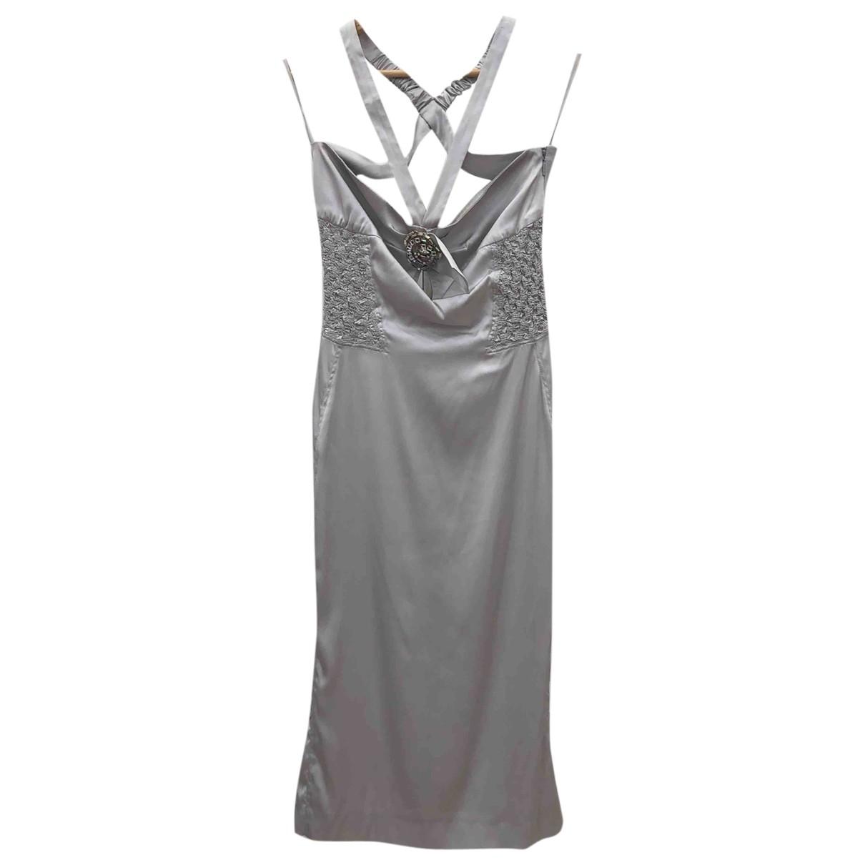 Gucci - Robe   pour femme en soie - gris