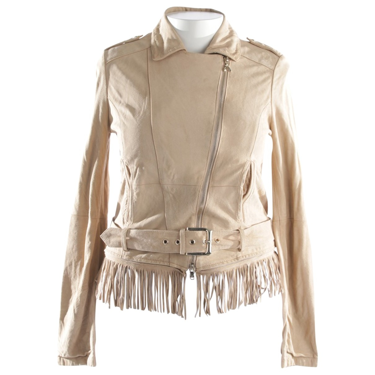 Patrizia Pepe \N Beige jacket for Women 40 FR