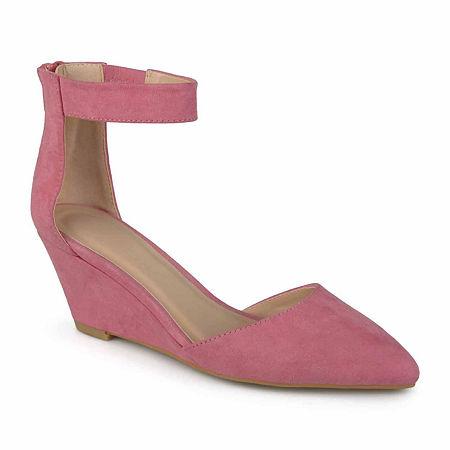 Journee Collection Womens Kova Slip-On Shoes, 8 1/2 Medium, Pink